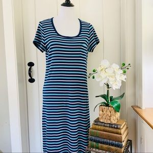 CHARTER CLUB INTIMATES NWOT Blue Striped Nightgown